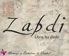 Mensajes y Palabras de Verdad: Nombres biblicos de Varón. Su significado.