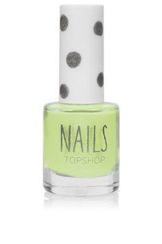 Nails in Venus Flytrap. Adore this colour    #TopshopPromQueen