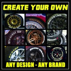 Best tire lettering in the game. Choose from all your favorite tire brands or create your own designs. Tire Stickers offers free US shipping on all orders. Logo Sticker, Sticker Design, Dr 650, General Tire, Falken Tires, Custom Camaro, First Time Driver, Motorcycle Tires