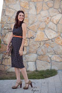 ModCloth Night Blooming Dress via Kendi Everyday