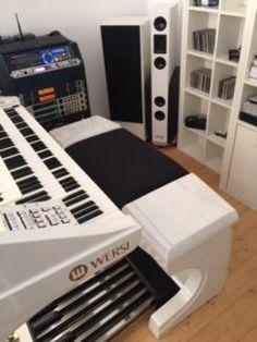 wersi galaxi orgel galaxis orgel spielbetrieb mit. Black Bedroom Furniture Sets. Home Design Ideas
