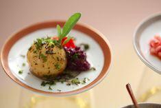 Tapas - Batatas, tapenade de aeitonas e tomate confit