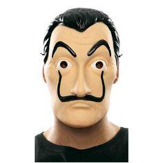 "2018 New Hot La Casa De Papel Face Mask ""Salvador Dali"" Cosplay Movie Mask #Unbranded"