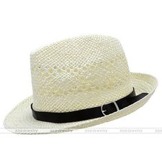 0df167d5ab1 Summer Beach Hats Trilby Floppy Fedora Straw Wide Brim Sun Hat For Men  Women  03