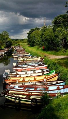 One of the canals in Killarney National Park, Killarney, Ireland (by hamerek)