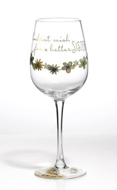 A28236 Style & Gracie Wish Wine Glass- Wish Wine Glass a perfect gift for anyone who is celebrating a special occasion #nostalgia #summer #style