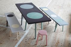 Hockerbank : stool-bench | Johanna Dehio