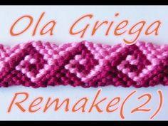 Pulsera de Hilo: Ola Griega Remake (2) - YouTube