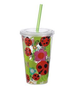 Take a look at this Ladybug 16-Oz. Insulated Tumbler by Boston Warehouse Hydration on #zulily today!