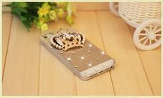 Crystal Diamond Hard Back Rhinestone Case Cover For Apple iPhone 5 - 7 plus