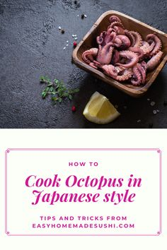 Unlike what you may think, an octopus is easy to cook in the Japanese style. It takes some work to cook it right, but the results are finger-licking. How To Make Jelly, Making Jelly, Jelly Cookies, Shortbread Cookies, How To Cook Octopus, Japanese Candy, Japanese Style, Japan Street Food, Chocolate Cookies
