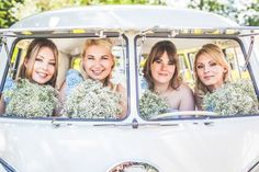 From Sarah's lace detailed Pronovias gown and pastel bridesmaids dresses, to the vintage wedding transport and country garden style blooms, we adore it all! Pastel Bridesmaid Dresses, Bridesmaids, Wedding Cars, Hessian, Lace Detail, Image, Style, Swag, Pastel Bridesmaid Gowns