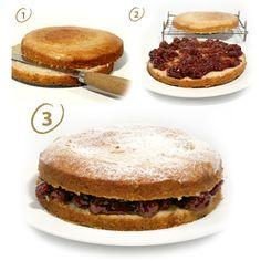 "БАЛЕВ БИО МАРКЕТ Ви предлага рецепта за неустоима ""Пандишпанова торта"""