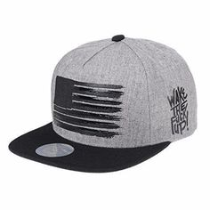 2c9f018d5c0d9 WITHMOONS Snapback Star and Stripes American Flag Hat KR2305