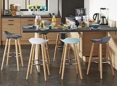 Plan de travail on pinterest credence cuisine cuisine ikea and deco cuisine - Deco cuisine scandinave ...