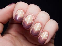 Sweetheart Tips - Zoya Naturel Collection Nail Art | Chalkboard Nails | Nail Art Blog