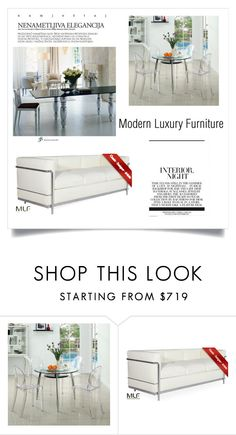 """""""Modern Luxury Furniture"""" by modern-luxury-furniture ❤ liked on Polyvore featuring interior, interiors, interior design, home, home decor, interior decorating and modern"""