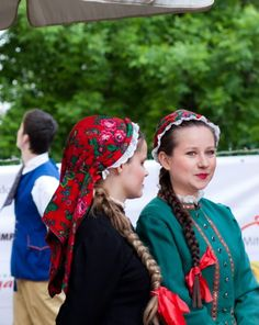 Folk costume from Bytom region, Silesia, Poland.