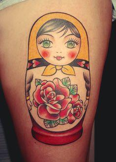 Matrioshka #tattoo
