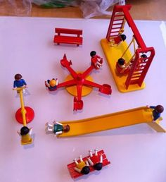 VINTAGE PLAYMOBIL PLAYGROUND SET 11 Children Included in Toys & Games, Pre-School & Young Children, Playmobil | eBay