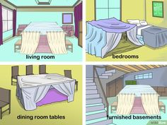 How to Make a Blanket Fort: 10 Steps (with Pictures) - wikiHow