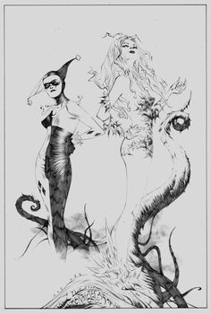 Harley Quinn by Poison Ivy by Jae Lee *