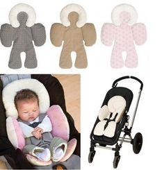 Kereta bayi Tubuh Dukungan Pad Tikar Kepatuhan Kursi Mobil Bayi Kereta Dorong Bayi Kepala Tubuh Bantal Dukungan