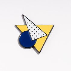 triángulo de pin agradable / / esmalte pin / / nicenicenice