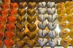 Gourmet chocolate shop.