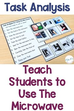 Task analysis and visual supports are the perfect tools for teachings students critical life skills that will allow them to be functional and independent as an adult. Use these materials in your lesson plans, life skills instruction, centers, speech therapy, occupational therapy and groups, cooking groups, special education and inclusion settings. The materials are leveled and designed to support students in autism classes, life skills programs, and self-contained rooms classrooms. Click to see! Life Skills Lessons, Life Skills Activities, Teaching Life Skills, Teaching Special Education, Autism Activities, Student Teaching, Life Skills Classroom, Classroom Ideas, Cooking In The Classroom