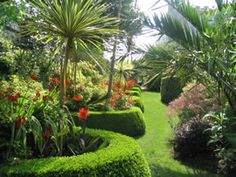 Tregenna Castle gardens  #tregennacastlebestview www.tregenna-castle.co.uk @Tregenna García Castle Hotel