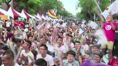 Asya'da eşcinsel evliliği yasallaştıran ilk ülke Tayvan.