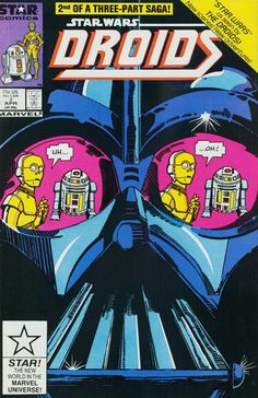 Star Wars Droids 7: Star Wars According to the Droids, Book II is the seventh issue of the Star Wars Droids series of comics. Collections Omnibus: Droids and Ewoks