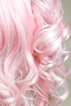 Cotton Candy Pink Hair.... Weaves with platinum blonde... I flipping love it!