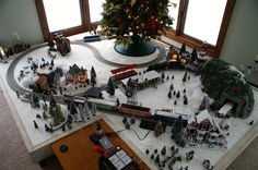 Your Under Christmas Tree Platforms (and other questions) | O Gauge Railroading On Line Forum