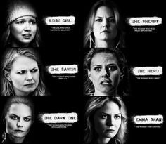Different sides of Emma  #SaveHook #OnceUponATime #once #ouat