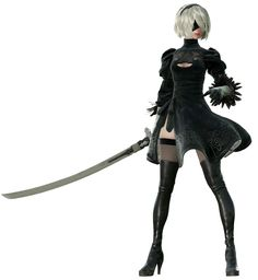 2B Render from NieR:Automata