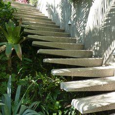 Pebble-crete stairs | ISO50 Blog – The Blog of Scott Hansen (Tycho / ISO50)