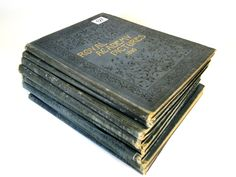 127) Cassell & Co – Interesting collection of Victorian/Edwardian Royal Academy Pictures albums from 1890 (8) Est. £30-£40