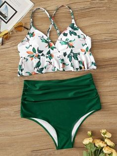 To find out about the Peplum Top With Ruched High Waist Bikini Set at SHEIN, part of our latest Bikinis ready to shop online today!Product name: [good_name] at SHEIN, Category: Bikinis, Price: [good_price] Sport Bikini Set, Bikini Sets, Bikini Modells, Haut Bikini, High Leg Bikini, High Waisted Bikini Bottoms, Sexy Bikini, High Waist Swimsuit, Cute Swimsuits High Waisted