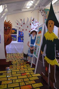 wizard of oz classroom installation