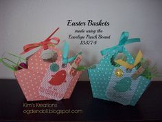 Stampin'Up Showcase - Easter Baskets