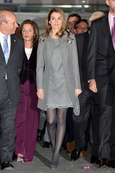 Princess Letizia at the ARCO Fair 2013