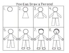 directed draw people - Google Search