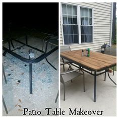 Diy patio table makeover painted furniture 41 Ideas Diy patio table makeover painted furniture 41 Id Patio Furniture Makeover, Patio Makeover, Diy Furniture, Repurposed Furniture, Painted Furniture, Outdoor Furniture, Vintage Furniture, Dresser Furniture, Desk Makeover