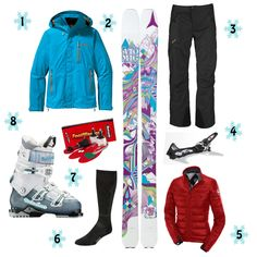 Wish list.....skiis binding and boots....check! so not much left to go hahaha!