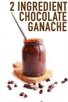 Make the perfect vegan chocolate ganache with this step-by-step tutorial.