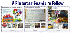3 Great Pinterest Boards for Teachers to Follow (scroll to the bottom of the post!)