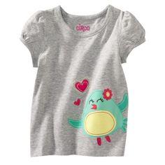 Grey bird shirt $4