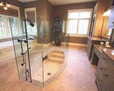 Isso sim é uma sala de banho